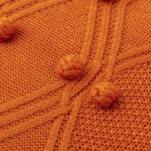 Stile Loft Sweaters - 'Siena' Burnt Orange Turtleneck Sweater